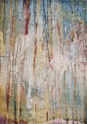 Kas Arte 6113 Ivory - Teal Area Rug