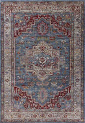 Kas Ashton 7709 Blue - Grey Area Rug
