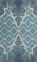 Kas Bob Mackie Home 1007 Blue Area Rug