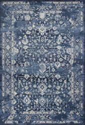 Kas Bob Mackie Home Vintage 1310 Azure Blue Area Rug