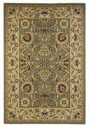 Kas Cambridge 7304 Green/Taupe Area Rug