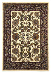 Kas Cambridge Kashan Ivory/Red 7303 Area Rug