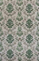 KAS Emerald 9038 Ivory/Green Damask Area Rug