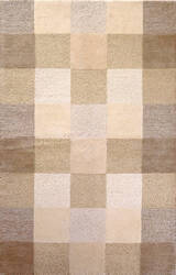 Kas Eternity Checkerboard Ivory 1054 Area Rug