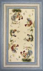 Kas Fairfax 5508 Ivory/Blue Area Rug