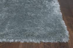 KAS Fina 553 Silver Sage Silky Shag Area Rug