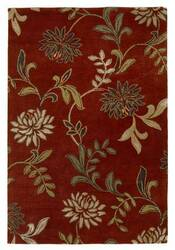 KAS Florence Floral Red 4562 Area Rug