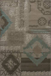 KAS Geneva 9428 Beige Diamonds Area Rug