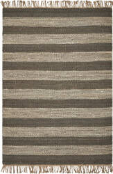 Kas Hang Ten Palm Beach 655 Slate - Ivory Area Rug