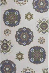 KAS Horizon 5721 Natural Mosaic Area Rug