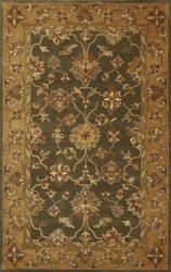 Kas Jaipur 3858 Green/Gold Area Rug