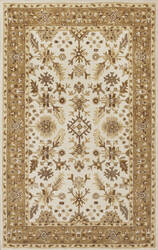 Kas Jaipur 3862 Ivory/Coffee Area Rug