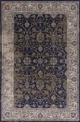 Kas Jasmine 3757 Ink Blue-Ivory Area Rug