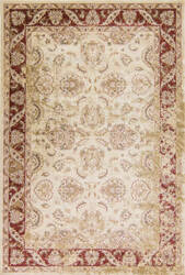 Kas Jasmine 3759 Ivory-Red Area Rug