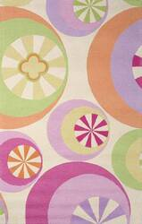 KAS Kidding Around Peppermints Pastel 430 Area Rug