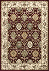 Kas Kingston 6405 Ruby-Ivory Area Rug