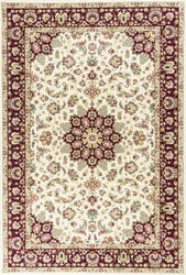 Kas Kingston 6412 Ivory-Red Area Rug
