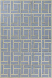 Kas Libby Langdon Soho 5020 Ice Blue Area Rug