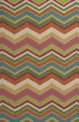 KAS Meridian 2532 Multicolor Chevron Area Rug