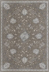 KAS Montecarlo Iv 5107 Champagne Floral Bouquets Area Rug