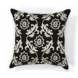 Kas Finesse Pillow L118 Black - White