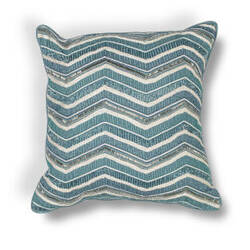 Kas Chevron Pillow L190 Teal