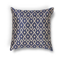 Kas Diamonds Pillow L203 Gold - Navy