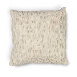 Kas Velvet Pillow L208 Ivory