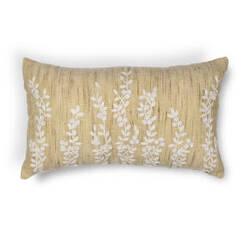 Kas Vines Pillow L216 Beige