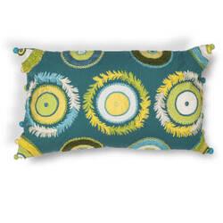 Kas Circles Pillow L218 Blue - Green