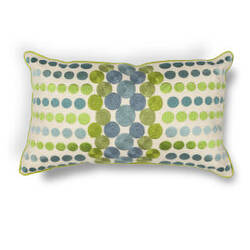Kas Pillow L220 Blue-Green