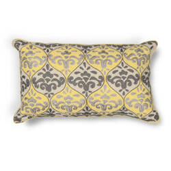 Kas Pillow L221 Yellow-Grey