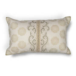 Kas Damask Pillow L222 Ivory