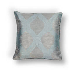 Kas Elegance Pillow L240 Blue - Grey