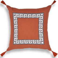Kas Pillow L433 Tangerine Area Rug