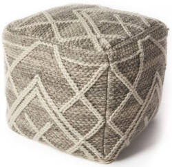 Kas Pouf F861 Grey Area Rug