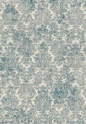 Kas Provence 8609 Ivory - Blue Area Rug