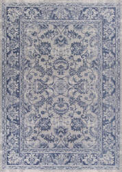 Kas Retreat 0107 Slate Blue Area Rug