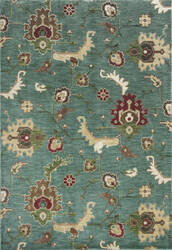 KAS Shiraz 5014 Blue Oushak Area Rug