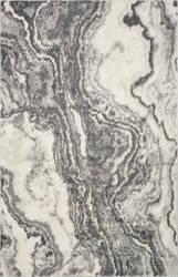 Kas Watercolors 6235 Ivory - Grey Area Rug