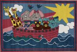 Fun Rugs Fun Time Noah's Ark FT-104 Multi Area Rug