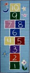 Fun Rugs Fun Time Primary Hopscotch FT-191 Multi Area Rug