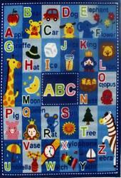 Fun Rugs Fun Time Letters & Names FT-95 Multi Area Rug