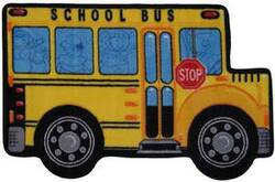Fun Rugs Fun Time Shape School Bus FTS-142 Multi Area Rug