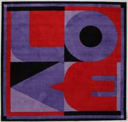 Fun Rugs Fun Time Shape Love FTS-156 Multi Area Rug