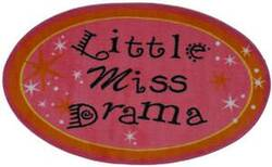 Fun Rugs Fun Time Shape Little Miss Drama FTS-181 Multi Area Rug