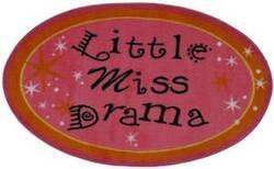 Fun Rugs Fun Time Shape Little Miss Drama FTS-181 Multi Area Rug