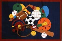Fun Rugs Fun Time Sports America GI-51 Multi Area Rug