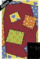 Fun Rugs Night Flash NF-12 Multi Area Rug