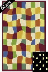 Fun Rugs Night Flash NF-14 Multi Area Rug